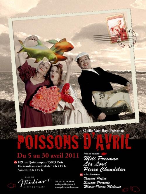 Affiche Poissons d'Avril