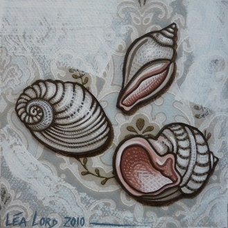Coquillages 1 - 2010 - 20x20 cm