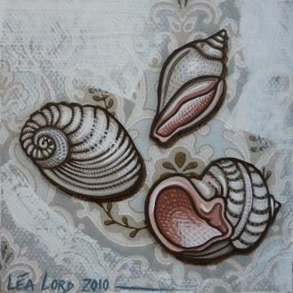Coquillages 1 - 2010 - 20x20 cm
