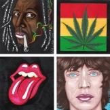 Diptyque Bob Marley & Mike Jagger