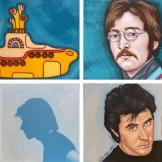 Dyptique John Lenon & Bryan Ferry