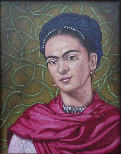 Frida Kahlo - 2012 - 67,5x57 cm