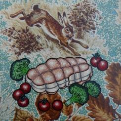 petites boucheries 4 - 1996 - 25x25 cm