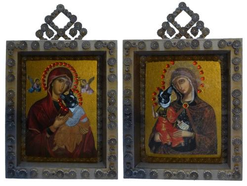 Vierge à L'enfant 2 & 1