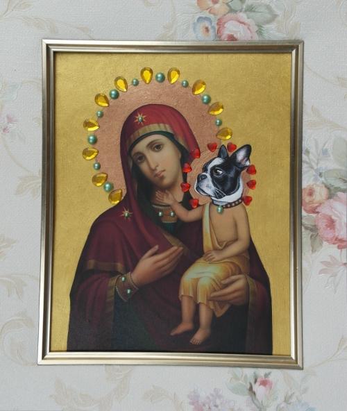 Vierge à l'enfant N° 7
